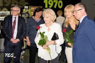 Henryk Loska uhonorowany w Alei Gwiazd Tyskiej Galerii Sportu