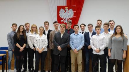 Inauguracyjna sesja Młodzieżowej Rady Miasta w Tychach