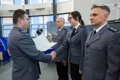 Tyska policjantka wyróżniona