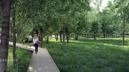 Nowe życie parku
