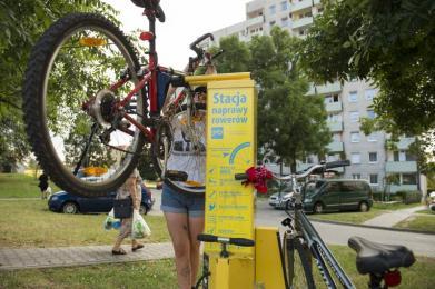 6 kolejnych stacji napraw rowerów w Tychach