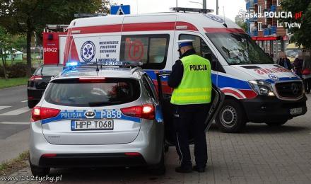 Potrącenie nastolatki, policjanci apelują o ostrożność!