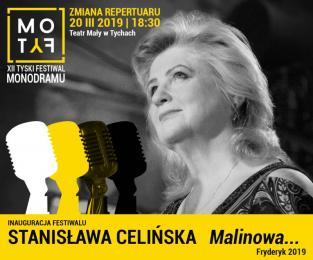 Inauguracja festiwalu MoTyF - koncert Stanisławy Celińskiej