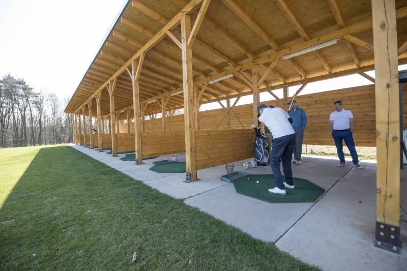 Tychy: nowa strzelnica golfowa już działa