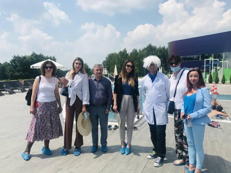 Dziennikarze z Chorwacji z wizytą w Tychach