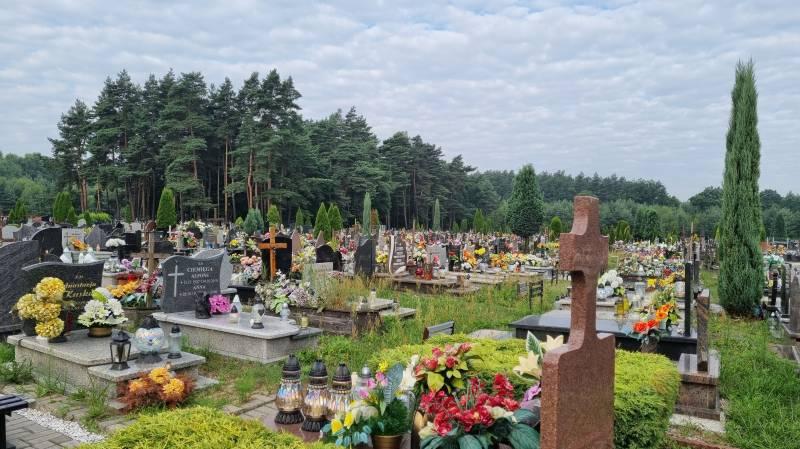 Cmentarz na ul. Barwnej zostanie rozbudowany