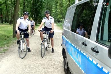 Patrole konne i rowerowe czuwają nad bezpieczeństwem