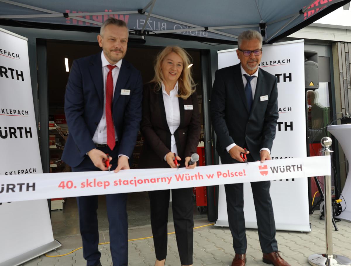 Wurth Polska świętuje otwarcie 40. sklepu stacjonarnego!