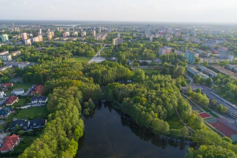 Najbardziej zielone polskie miasta