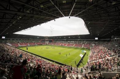 Mecz polskiej reprezentacji na Stadionie Miejskim Tychy
