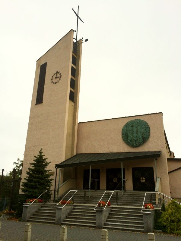 Parafia Paprocany - Kościół pw. Najświętszego Serca Pana Jezusa