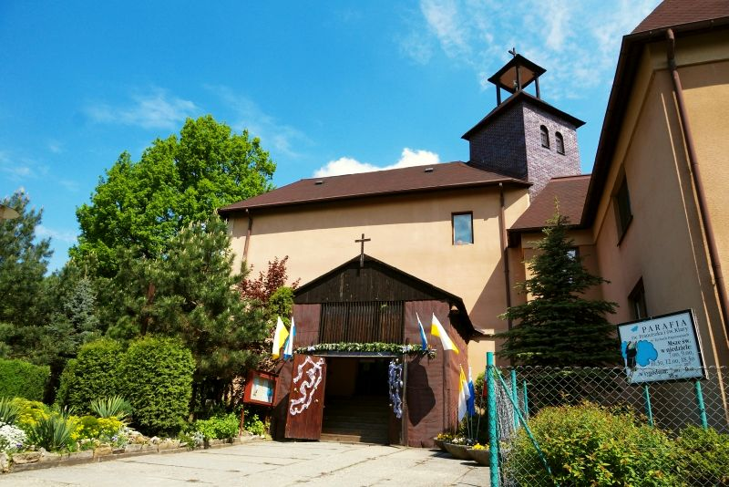 Parafia Śródmieście - Kościół pw. św. Franciszka z Asyżu i św. Klary