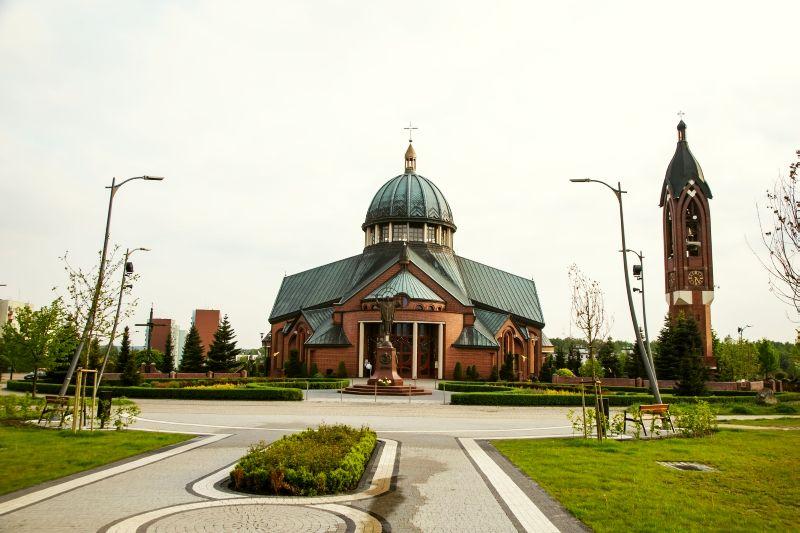 Śródmieście - Kościół pw. bł. Karoliny Kózkówny