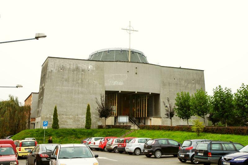 Śródmieście - Kościół pw. Benedykta opata