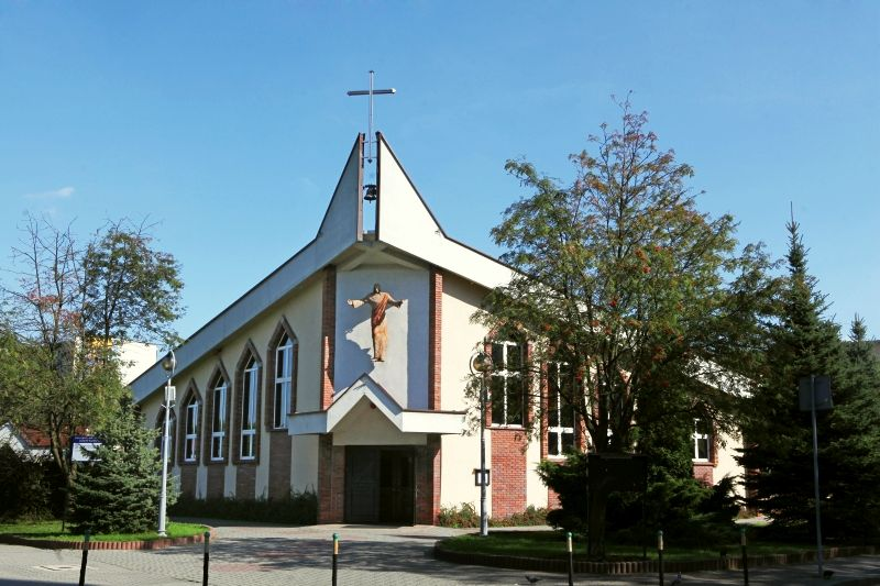 Śródmieście - Kościół pw. Świętej Rodziny